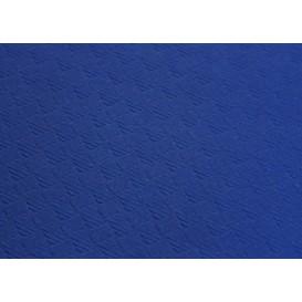 Voorgesneden papieren tafelkleed blauw 40g 1x1m (400 stuks)