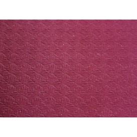 Voorgesneden papieren tafelkleed bordeauxrood 40g 1x1m (400 stuks)