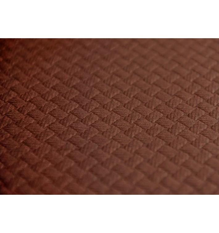 Nappe en papier 1x1 Mètre Marron 40g (400 Unités)