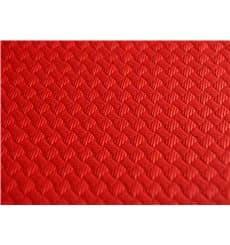 Nappe en papier 1x1 Mètre Rouge 40g (400 Unités)