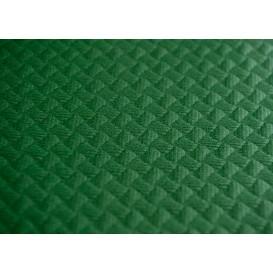 Voorgesneden papieren tafelkleed groen 40g 1x1m (400 eenheden)