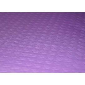 Voorgesneden papieren tafelkleed lila 40g 1x1m (400 eenheden)