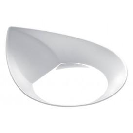 """Proeving Plastic bord PS """"Smart"""" wit 8,6x7,1 cm (50 eenheden)"""