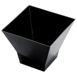 Verrine Dégustation Pagode Medium Noir 200 ml (12 Utés)