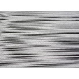 """Voorgesneden papieren tafelkleed """"Basic zwart"""" 37g 1x1m (400 eenheden)"""