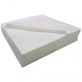 Wegwerp Airlaid handdoek voor Haarsalon wit 40x90cm 50g/m² (25 stuks)