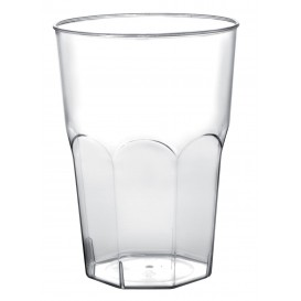 Verre Plastique à Cocktail Transp. PP Ø84mm 350ml (20 Utés)
