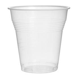 Plastic PS beker Vending transparant 160 ml (100 stuks)