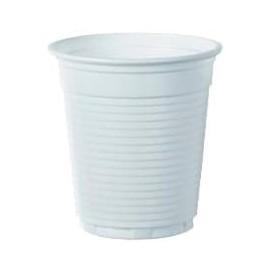 Gobelet Plastique PS Blanc 166ml Ø7,0cm (100 Unités)