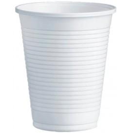 Plastic PS beker wit 200ml Ø7,0cm (100 stuks)