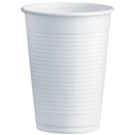 Plastic PS beker wit 230ml Ø7,0cm (100 stuks)