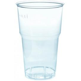 Gobelet Plastique PS Cristal 490ml Transparent Ø9,0cm (40 Unités)