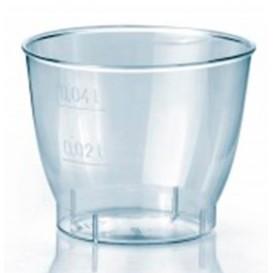 """Plastic PS Shotje Geïnjecteerde glascider """"Cool"""" 40 ml (2.000 stuks)"""