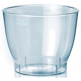 """Coupe Plastique Dur """"Cool Cup"""" 250ml (25 Unités)"""