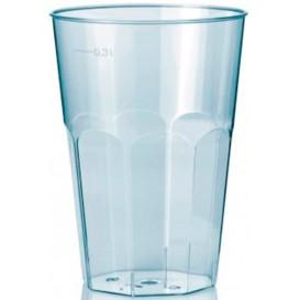 """Plastic PS beker Kristal """"Deco"""" transparant 300 ml (450 stuks)"""