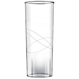 "Plastic Collins PS glas ""Moon"" transparant 300ml (490 stuks)"