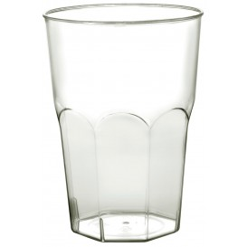 Verre Plastique à Cocktail Transp. PS Ø84mm 350ml (20 Utés)