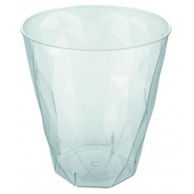 "Verre ""Ice"" PS Transparent Cristal 340ml (420 Utés)"