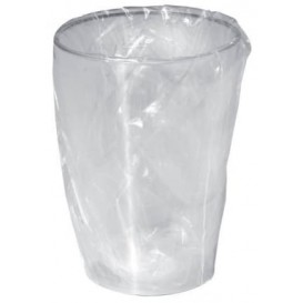 Verre Plastique Moon Emballé Transp. PS 230ml (50 Unités)