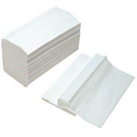 Essuie Mains Papier Tissu Blanc 2 Epaisseurs Z (150 Utés)
