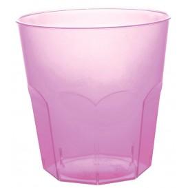 Plastic PS beker lila transparant Ø7,3cm 220ml (1000 stuks)