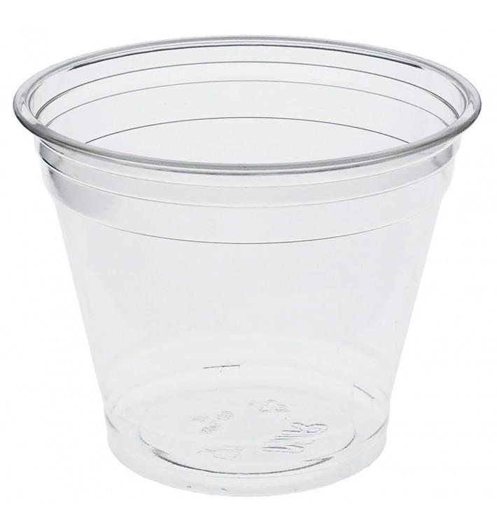 Gobelet Plastique Rigide Bas en PET 9oz 265ml Ø9,5cm (50 Unités)