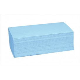 Essuie Mains en Papier Bleu 1 Epaisseur Z (4.560 Utés)