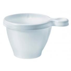 Plastic beker wit 80ml (50 stuks)