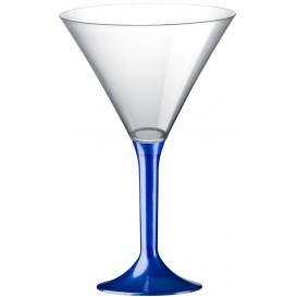 Plastic stamglas Cocktail blauw parel 185ml 2P (20 stuks)