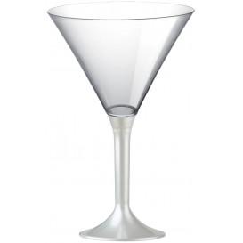 Plastic stamglas Cocktail wit parel 185ml 2P (200 stuks)