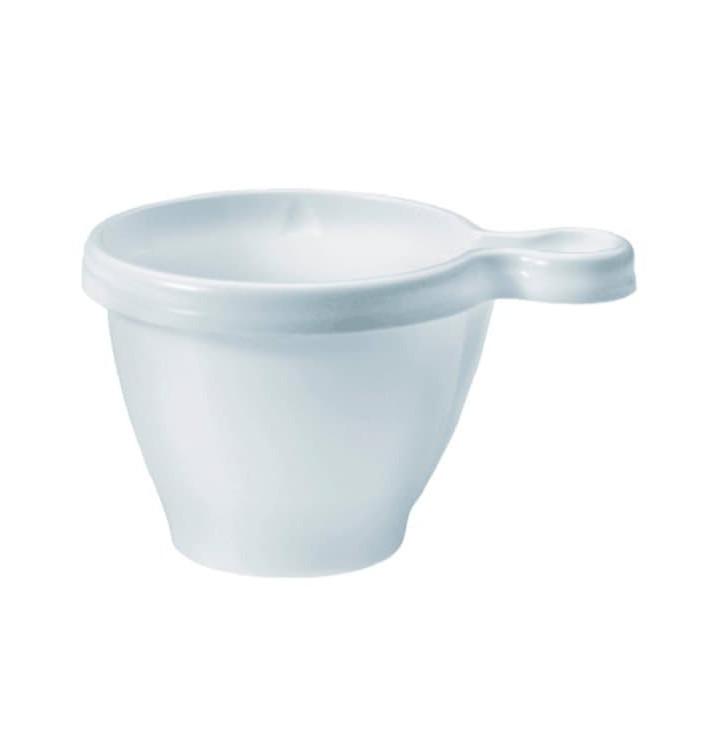 Tasse plastique Blanche PS 170ml (50 Unités)