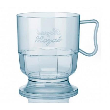 Tasse plastique Dur Transparent 200ml (300 Unités)