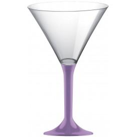 Flûte en Plastique Cocktail Lilás 185ml (200 Unités)