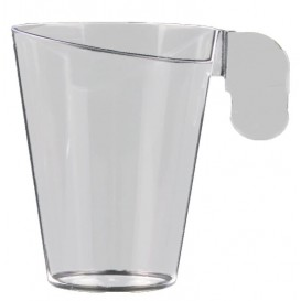 Tasse plastique Design Transparent 72ml (12 Unités)
