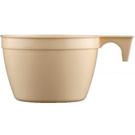 Tasse Plastique Cup Beige 190ml (25 Unités)