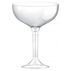 Plastic stam fluitglas transparant 200ml 2P (20 stuks)
