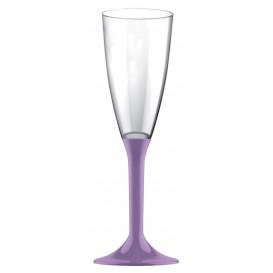 Flûte Champagne Plastique Lilás 120ml (200 Unités)