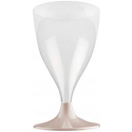 Plastic stamglas wijn beige 200ml 2P (20 stuks)