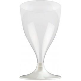 Plastic stamglas wijn wit parel 200ml 2P (400 stuks)