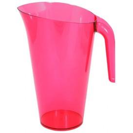 Plastic pot PS Herbruikbaar framboos 1.500 ml (20 stuks)