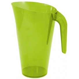 Carafe Plastique Vert Réutilisable 1.500 ml (1 Unité)