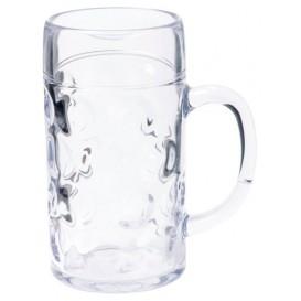 Plastic bierglas Herbruikbaar SAN Ø105mm 1000ml (1 stuk)