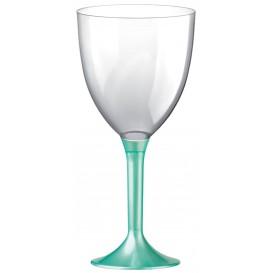 Plastic stamglas wijn tiffanen parel verwijderbare stam 300ml (20 stuks)