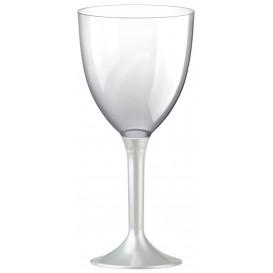 Flûte en Plastique Vin Blanc Perlé 300ml (20 Unités)