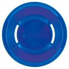Assiette Plastique Creuse Bleu Mediterranée Round PP Ø195mm (600 Utés)
