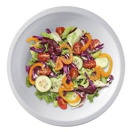 "Plastic bord Plat wit ""Rond vormig"" PP Ø22 cm (50 stuks)"