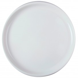 """Plastic bord voor Pizza wit """"Rond vormig"""" PP Ø35 cm (144 stuks)"""