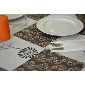 """Voorgesneden papieren tafelkleed """"magnolia Nem (400 eenheden) a"""" 37g 1x1m (400 eenheden)"""