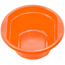 Plastic Kom PS oranje 250ml Ø12cm (660 stuks)