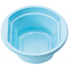 Bol Plastique PS Bleu Clair 250ml Ø12cm (30 unités)